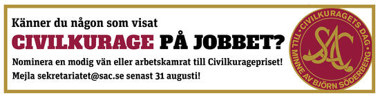 Nominera till civilkuragepriset 2019